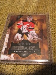 2012 Upper Deck Artifacts Martin Brodeur