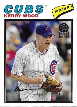 2013 Cubs Topps Archives Season Ticket Holder - 25