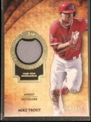 2017 Topps Topps Tier One Relics #T1RMT Mike Trout/331