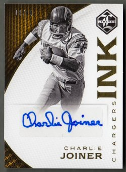 2016  Limited Ink Charlie Joiner