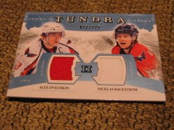 2012 Upper Deck Artifacts Alex Ovechkin Niklas Backstrom