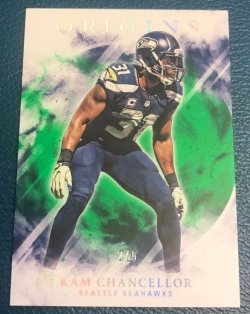 2017 Panini Origins Green Kam Chancellor
