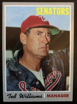 1970 Topps  Ted Williams