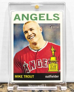 2013 Topps Heritage Mike Trout