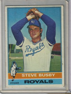 1976 Topps Base Steve Buusby
