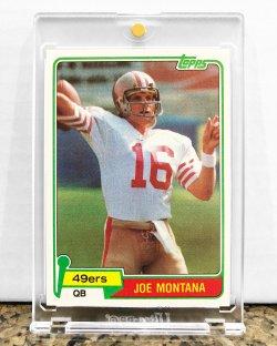 1981 Topps  Joe Montana