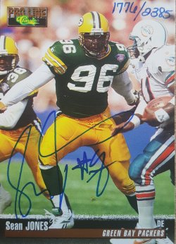 1996  Pro Line Classic Sean Jones Auto