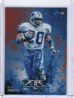 2014 Topps Fire-Flame Foil Barry Sanders