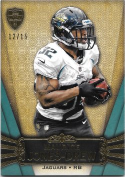 2012 Topps Supreme Green Maurice Jones-Drew