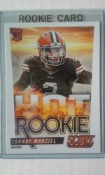 2014 Score Hot Rookie  Johnny Manziel
