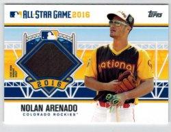 2016 Topps Update All Star Stitches Nolan Arenado
