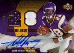 2007  Exquisite Adrian Peterson