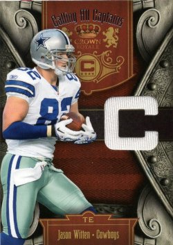 Jason Witten 2011 Panini Crown Royale Calling All Captains Jersey