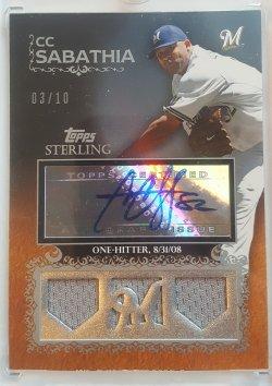 2008 Topps Sterling CC Sabathia