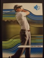 2012 Upper Deck SP Authentic Sapphire  John Mallinger