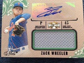 2014 Topps Triple Threads Zack Wheeler