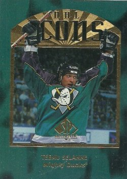 1997/98  SP Authentic Icons Selanne