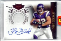 2010 Panini Plates and Patches Rookie auto Toby Gerhart