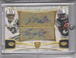 2013 Topps Supreme Dual Autographs Dee Milliner/Geno Smith