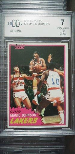 1981-82 Topps  Magic Johnson