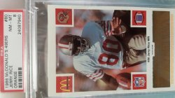 1986   McDonalds  Jerry Rice - - Orange