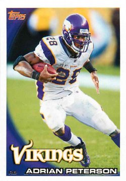 2010  Topps Adrian Peterson