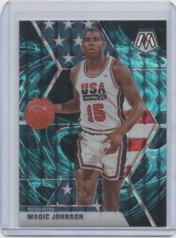2019 Panini Mosaic Magic Johnson genesis