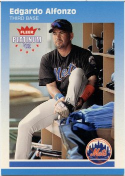 2002 Fleer Platinum Alfonzo, Edgardo