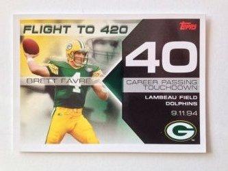 2007 Topps Flight to 420  Brett Favre