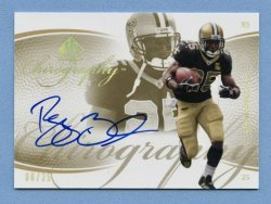 2007 SP Authentic Chirography Gold #CARB Reggie Bush/25