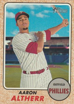 2017 Topps Heritage Aaron Altherr