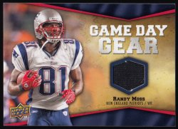 2009 Upper Deck Game Day Gear  Randy Moss