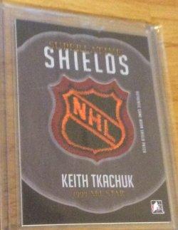 2015 Leaf Superlative  Keith Tkachuk shields NHL logo