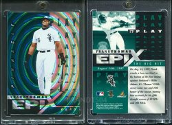 1998   Pinnacle Epix Play Emerald (Non Released Product) Frank Thomas
