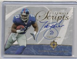 2006 Upper Deck Ultimate Collection Tiki Barber Ultimate Scripts