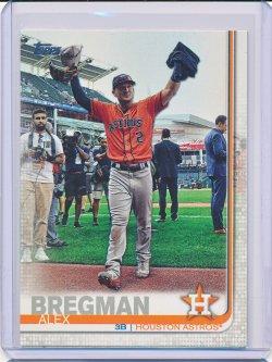 Alex Bregman 2019 Topps Photo Variations