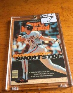 1997 Fleer  Sports Illustrated Nonstop Shortstop-#177