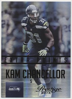 2015 Panini Prestige Xtra-Points Black Kam Chancellor