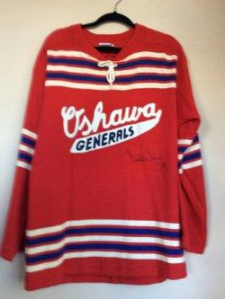 Bobby Ore auto game used jersey oshawa jenerals