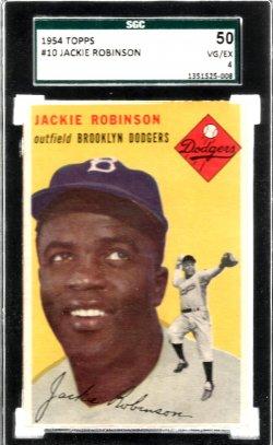 1954 Topps  Jackie Robinson