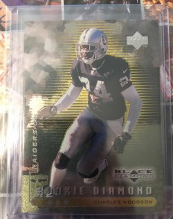 1998 Upper Deck Black Diamond Rookie Triple Charles Woodson