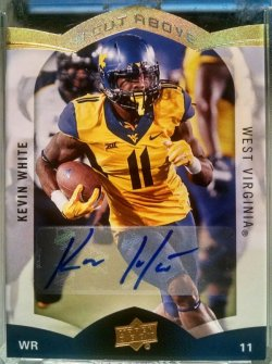 2015 Upper Deck  Kevin White a cut above auto