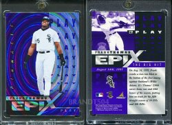1998   Pinnacle Epix Play Purple (Non Released Product) Frank Thomas