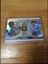 2012 Bowman Chrome Franchise All-Stars Gerrit Cole / Andrew McCutchen