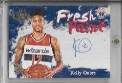 2015-16 Panini Court Kings Kelly Oubre Jr Fresh Paint