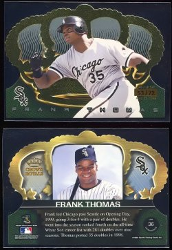 1999  Crown Royal Opening Day Frank Thomas