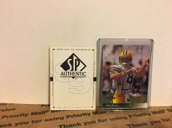 1999 Upper Deck SP Authentic Buyback Mark Brunell (1993 SP RC)