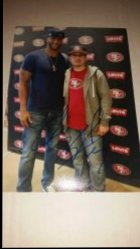 Colin Kaepernick 5x7 Personal Photo IP Autograph
