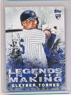 Gleyber Torres 2018 Topps Update Legends in the Making RC