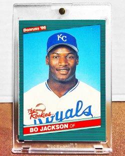 1986 Donruss Rookies Bo Jackson